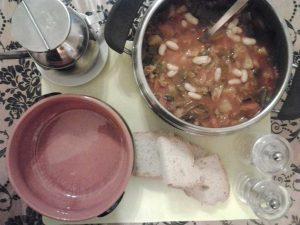 5 ingredienti per zuppa