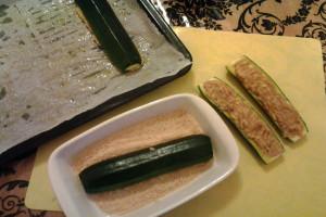 4 - come integliare le zucchine ripiene