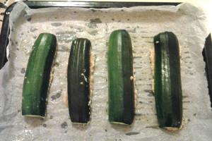 5 - zucchine ripiene pronte da infornare