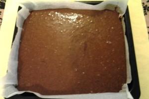 6 - brownies pronto da infornare