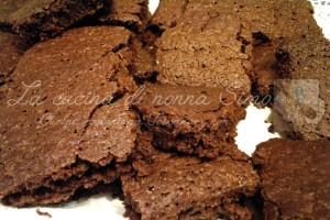 Brownies di pane e cioccolato