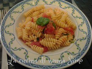 pasta pomodoro e basilico light