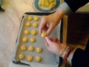 3 forma i biscotti