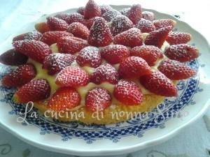 Crostata di fragole-