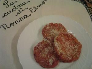 Hamburger melanzane alla parmigiana