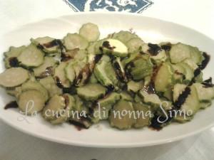 Zucchine alla cipolla light