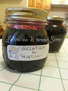 Gelatina di Mirtilli
