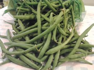 1 Fagiolini verdi