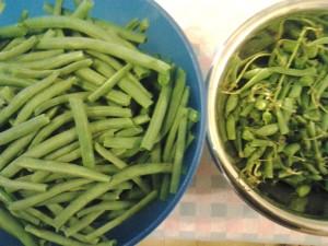 2 pulire fagiolini
