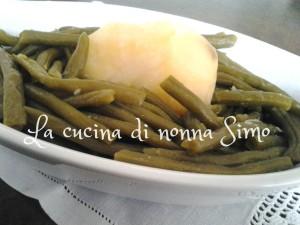 Fagiolini con patate