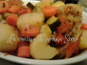 Pollo al sacchetto con verdure v