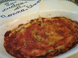 Acciughe al forno alla pizzaiola v