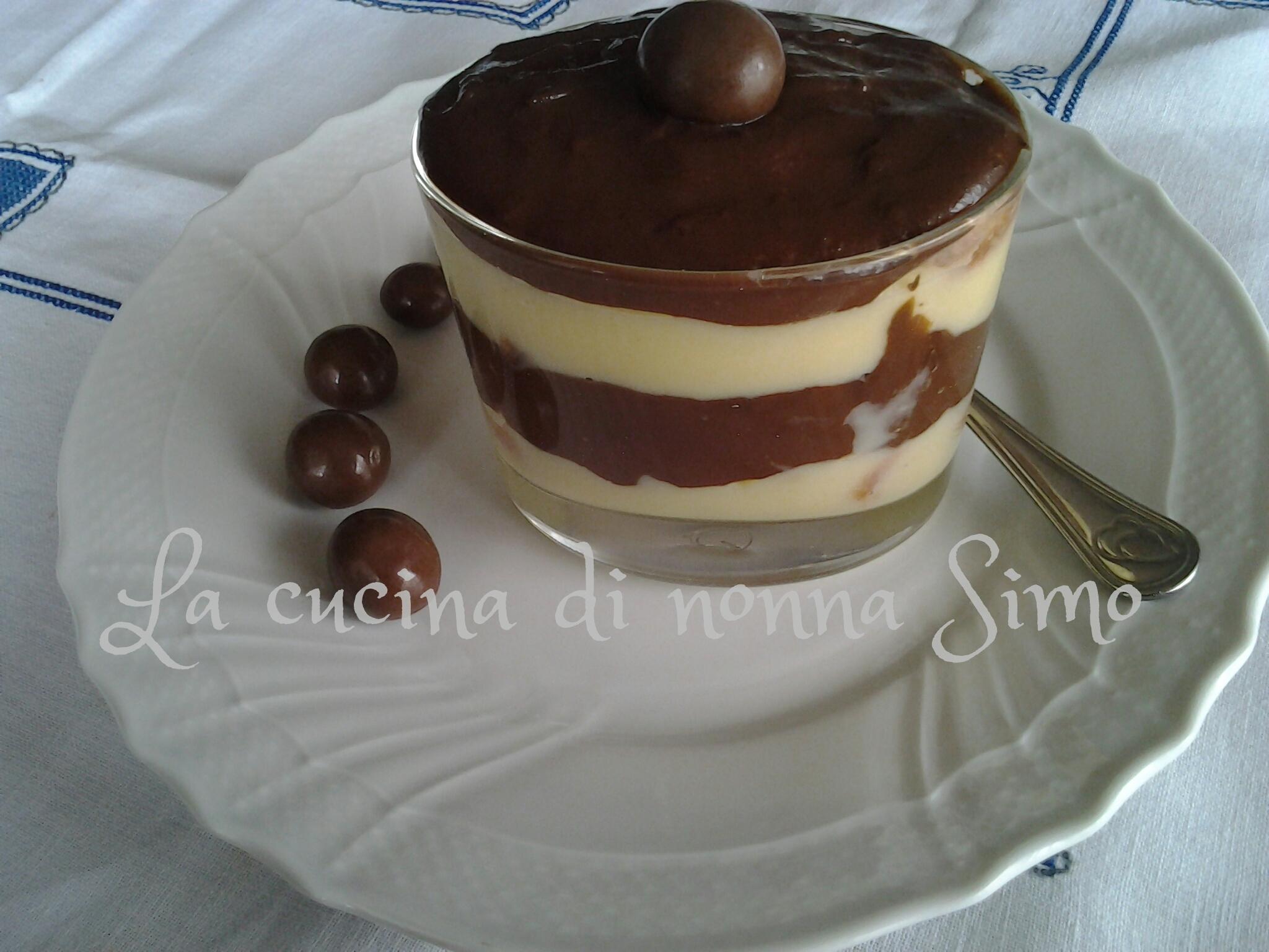 Zuppa Inglese Al Bicchiere La Cucina Di Nonna Simo